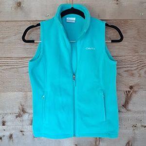 Girls' Columbia Aqua Fleece Vest